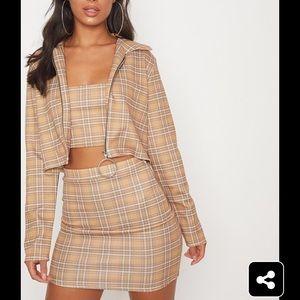 PLT crop jacket